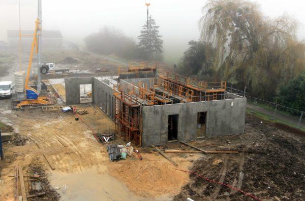 Construction de la Maison Médicale, Chateau sur Epte