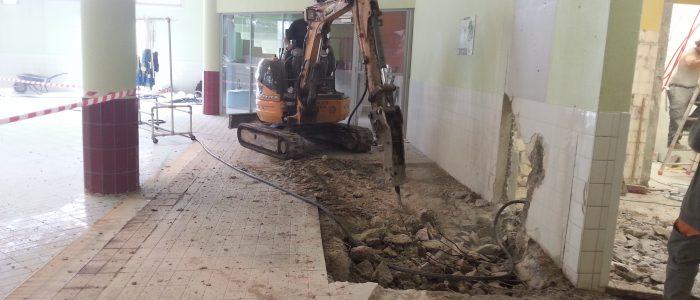Rénovation de la Piscine des Feugrais à Cléon