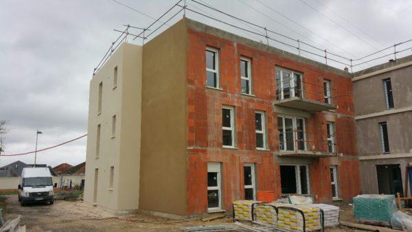 Construction d'un immeuble de 21 logements au Clos Samson, Les Essarts, Grand Couronnes